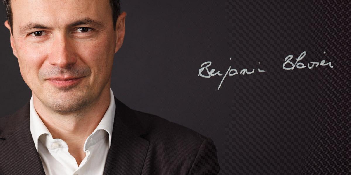 Benjamin Blavier, délégué général de l'association Passeport Avenir